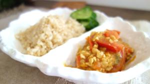 ベジタリアン流キーマカレーの作り方。ひきわり納豆でヘルシー!