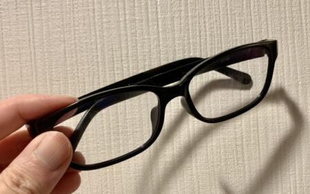ブルーライト眼鏡の使用をやめた方が良いと言われたり【ふつうの日記】