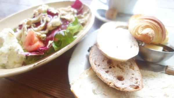 新百合ヶ丘のパン屋さんカンガルーでランチ