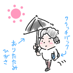 日傘のシーズンがやってきたり【ふつうの日記】