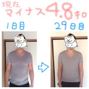 オーガニックな置き換えダイエットで1ヶ月4.8キロ減量「30才男性AさんのPNOその6」