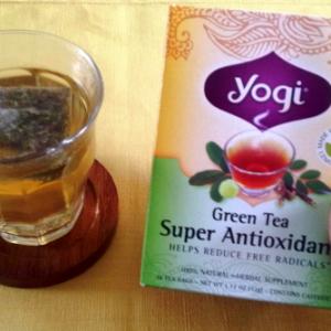 【体が冷えない緑茶?】yogi Teaを飲んでみました。