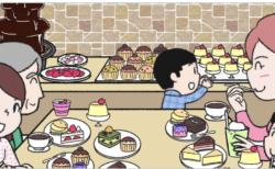 ケーキの絵をたくさん描いたり【告知日記】