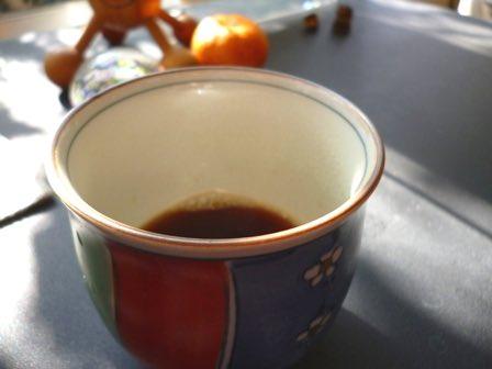 体が冷えないコーヒー