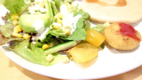 無農薬サラダ