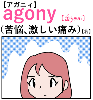 torture(拷問) 英単語のゴロ合わせ4コマ漫画 Lesson.127