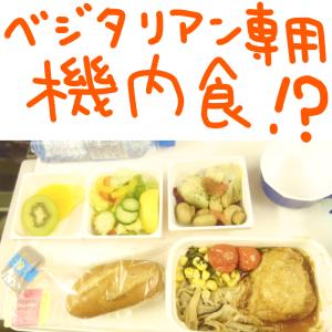 【飛行機の噂】ベジタリアン専用の特別機内食があるらしい。頼んでみた【JALオーストラリア便編】