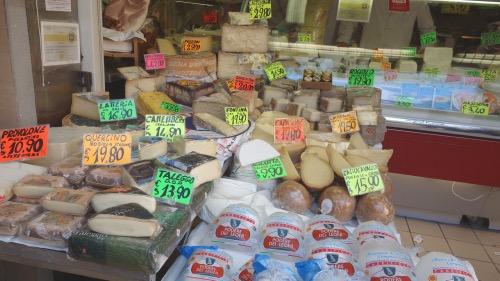 オーガニックのチーズがない