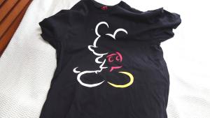 ミッキーTシャツに魅了されたり中華鍋振ったり【普通の日記】