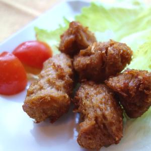 大豆肉(ソイミート)で味わう【ベジタリアン流】唐揚げをつくる!