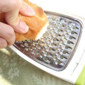 自家製【パン粉】の作り方。パンさえあれば簡単だよ!