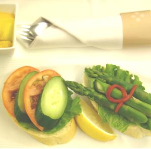 ベジタリアン・ヴィーガンの機内食