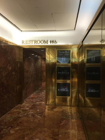 トランプタワーのトイレ
