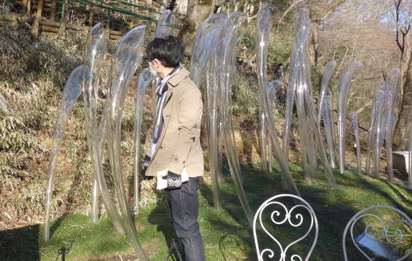 箱根の自然とガラス
