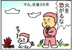 『ピンクの忍者!ポン吉』第14話「地獄の忍犬修行!の巻」