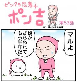 『ピンクの忍者!ポン吉』第53話「姫の体力が限界に!?の巻」