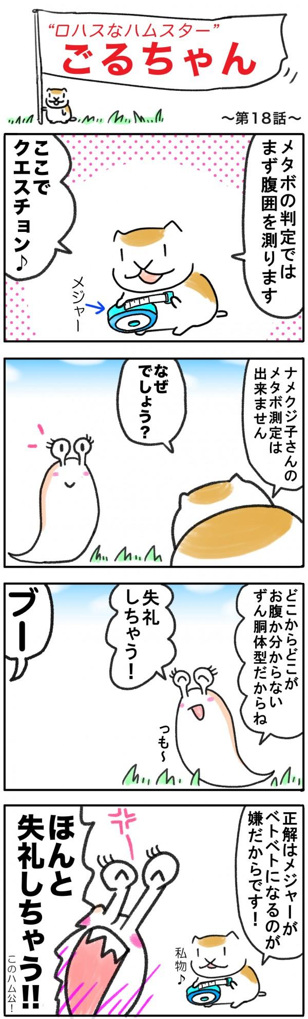 ゴルちゃん18回目