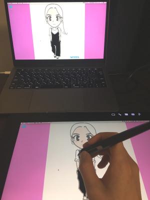 液晶ペンタブレットを使い始めたり【日記】