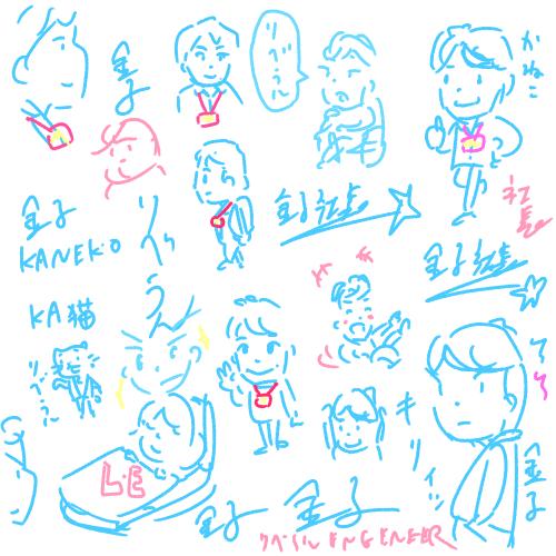引き続き他社のブログも描いてたり【日記】