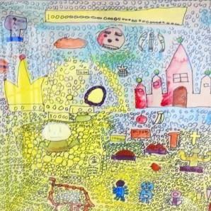 子供の頃の絵を発見。画力は発達したのか確認。