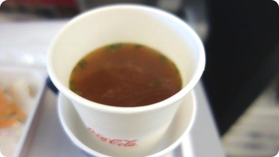 JALのみそ汁