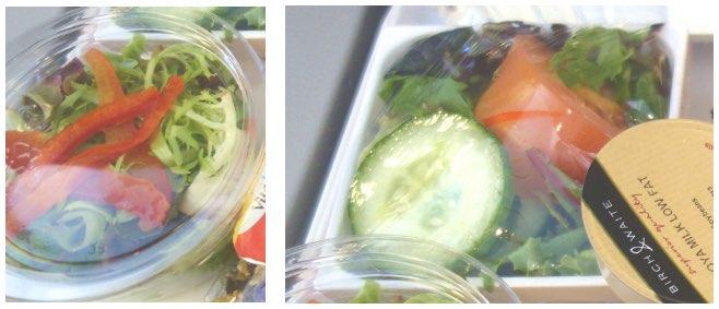 ベジタリアン用機内食