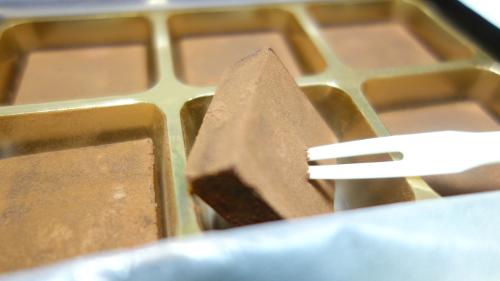 自然食品店の生チョコ