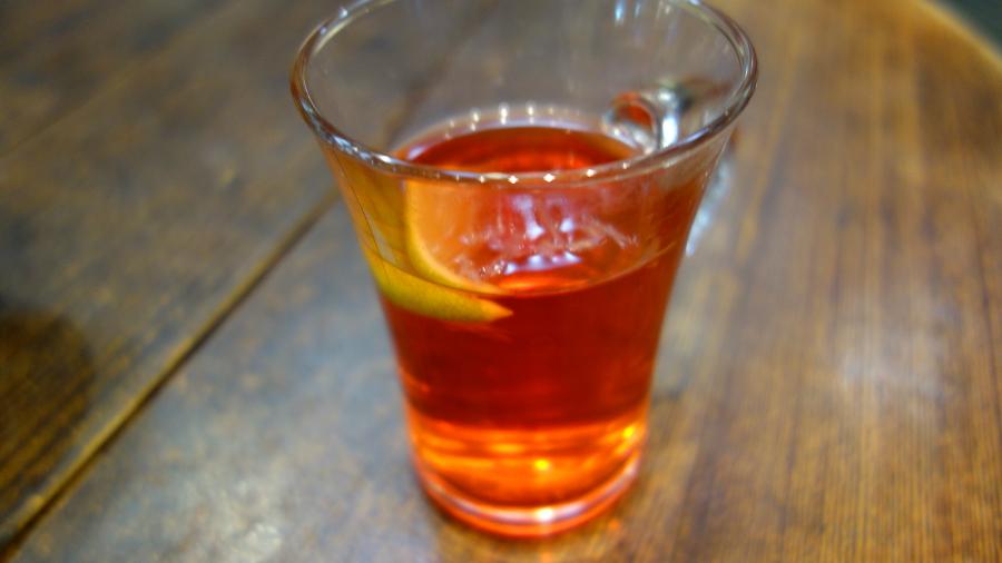 ハーブのお酒カンパリ