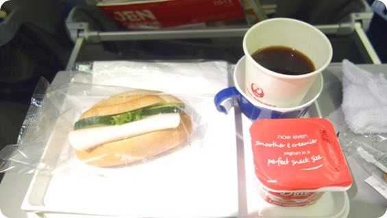 JALの機内食3