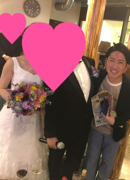 親友の結婚式2次会に出席したり【つれづれ日記】