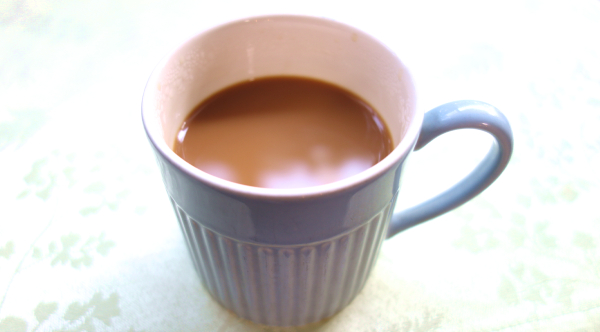 コーヒーに豆乳