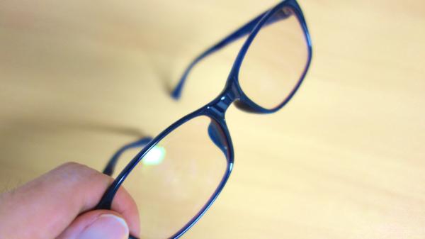 PCメガネの効果 眼精疲労