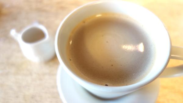 有機コーヒー 豆乳