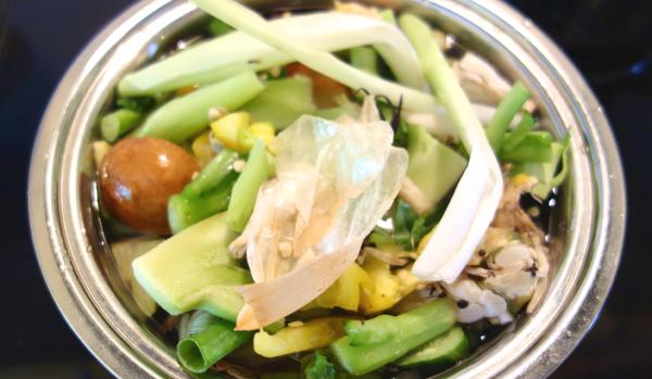 野菜をマクロビオティックで全部食べる