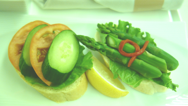 機内食の写真