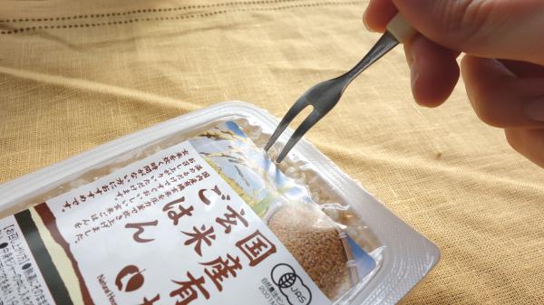 有機玄米の栄養