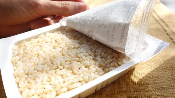 インスタントの玄米ご飯