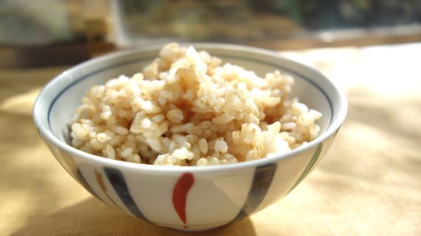 健康的な玄米ご飯