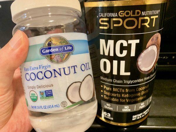 MCTオイルとココナッツオイル
