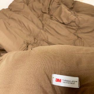 寒い夜対策で3M製の布団を買ったり