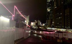 再開発中の渋谷がピンクだったり【ふつうの日記】
