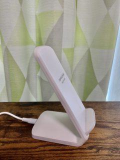 スマホのワイヤレス充電器で机周りをさらに進化(効率化)させたり【ふつうの日記】