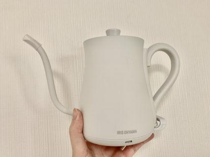 コーヒー用の湯沸かし器、来たる!!!【ふつうの日記】