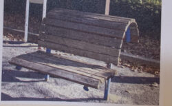 公園のオシャレなベンチの正体がオシャレなベンチではなかったり【ふつうの日記】